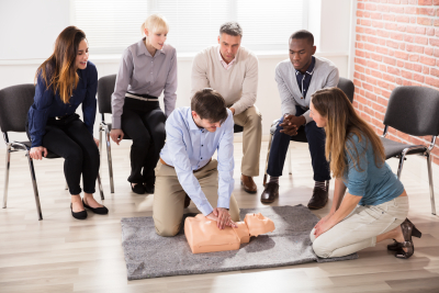 Heart Saver (AED Training, First Aid )
